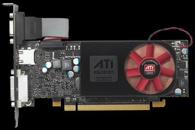 видеокарта Radeon HD 5570